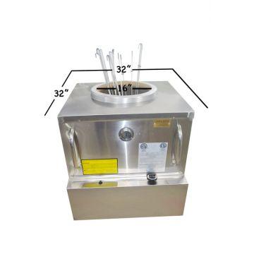 ETL-NSF-ANSI Restaurant Gas Tandoori Oven