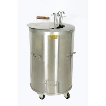 SS4 - Full Size Tandoor for Home and catering